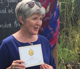 Cornelia Raftery strikes gold at Bloom